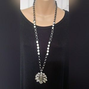 Chico's Necklace with Brooch/Pendant